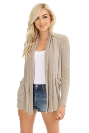 Bobi Long-Sleeve Pocket Cardigan - Product Mini Image