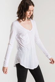 z supply Long Sleeve Pocket Tee - Side cropped
