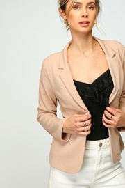 Olivia Pratt Long-Sleeve Pocketed Blazer - Product Mini Image