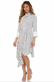 cq by cq Long-Sleeve Polkadot Dress - Product Mini Image