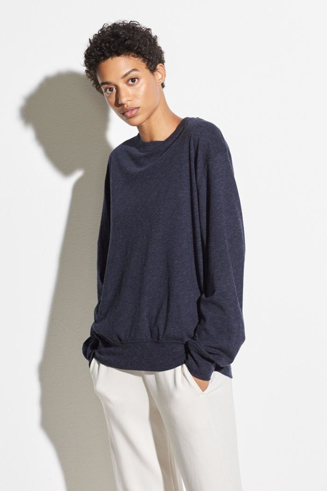 Vince Long Sleeve Pullover - Front Full Image