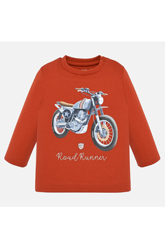 Mayoral Long Sleeve Road Runner Shirt - Product List Image