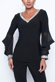 Frank Lyman Long Sleeve Sequin Blouse - Product Mini Image