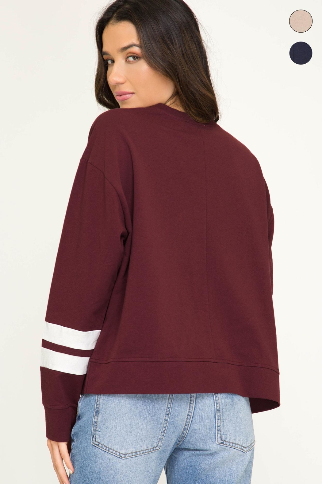 Unknown Factory Long Sleeve Shirt - Front Full Image