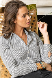 The Shirt LONG SLEEVE STRIPE BUTTON DOWN - Product Mini Image