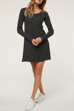 Shoptiques Product: Long-Sleeve Stripe Dress