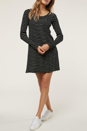 O'Neill Long-Sleeve Stripe Dress - Product Mini Image