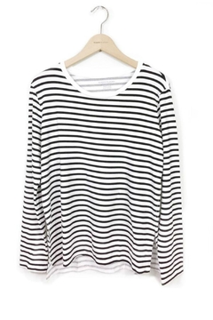 Majestic Filatures Long Sleeve Stripe - Product List Image