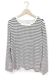 Majestic Filatures Long Sleeve Stripe - Product Mini Image
