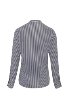 Martin Grant LONG SLEEVE STRIPED COLLAR STAND BUTTON DOWN - Alternate List Image