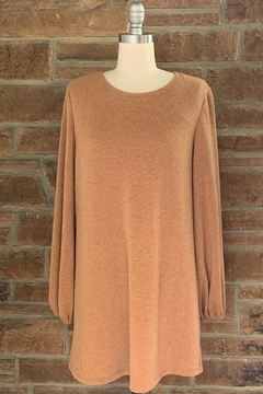 Adrienne Long Sleeve Sweater Dress - Product List Image