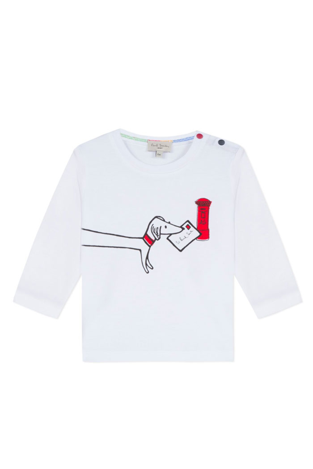 Paul Smith Junior Long Sleeve T Shirt - Front Cropped Image
