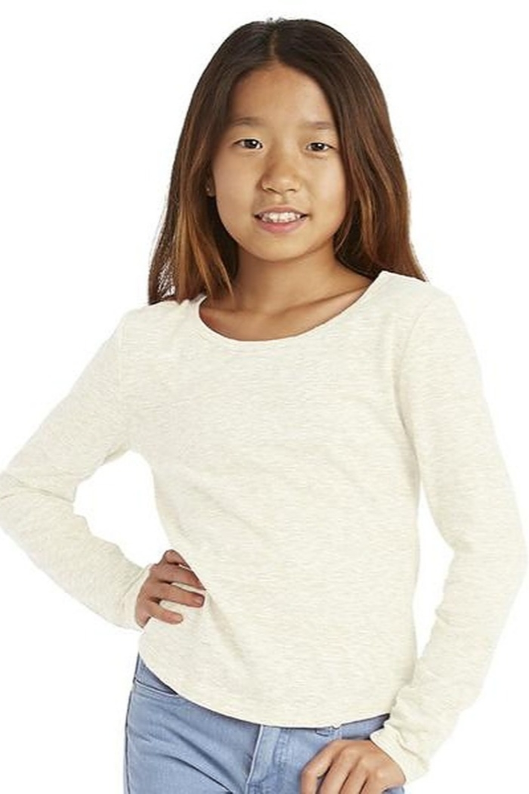 Cutie Patootie Long Sleeve Tee - Front Cropped Image