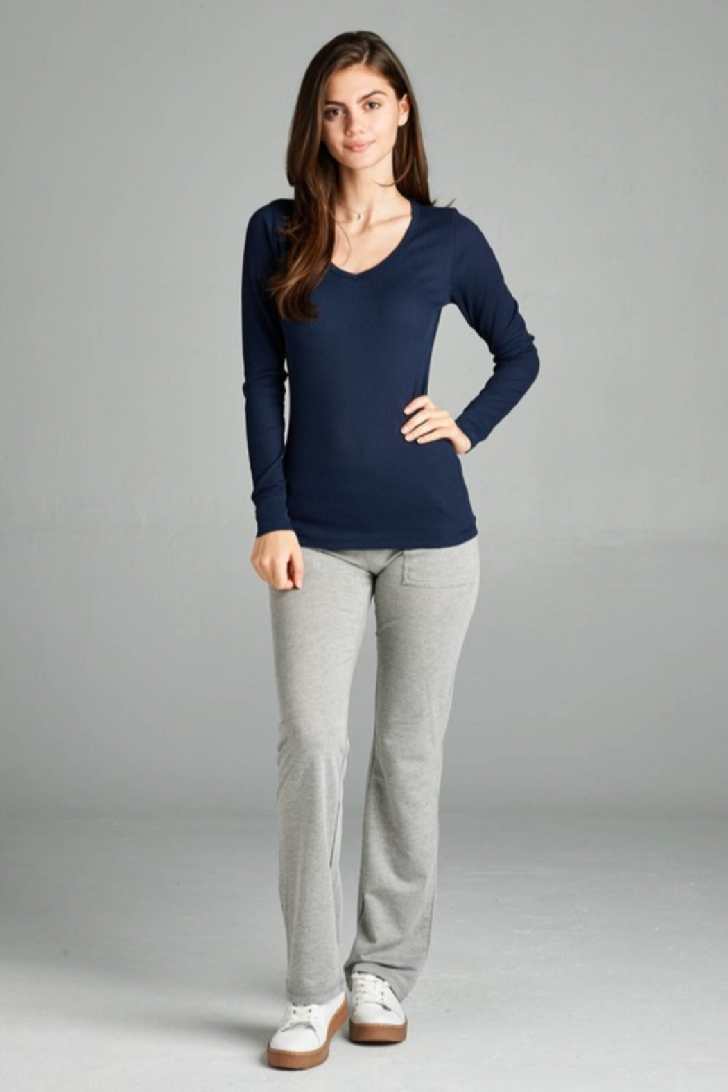 Active Basic Long sleeve Thermal - Side Cropped Image