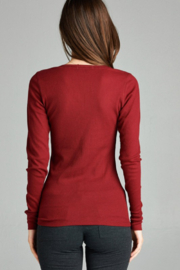 Active Basic Long sleeve Thermal - Front full body