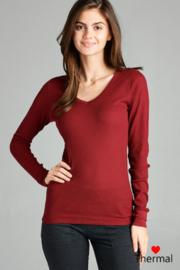 Active Basic Long sleeve Thermal - Front cropped