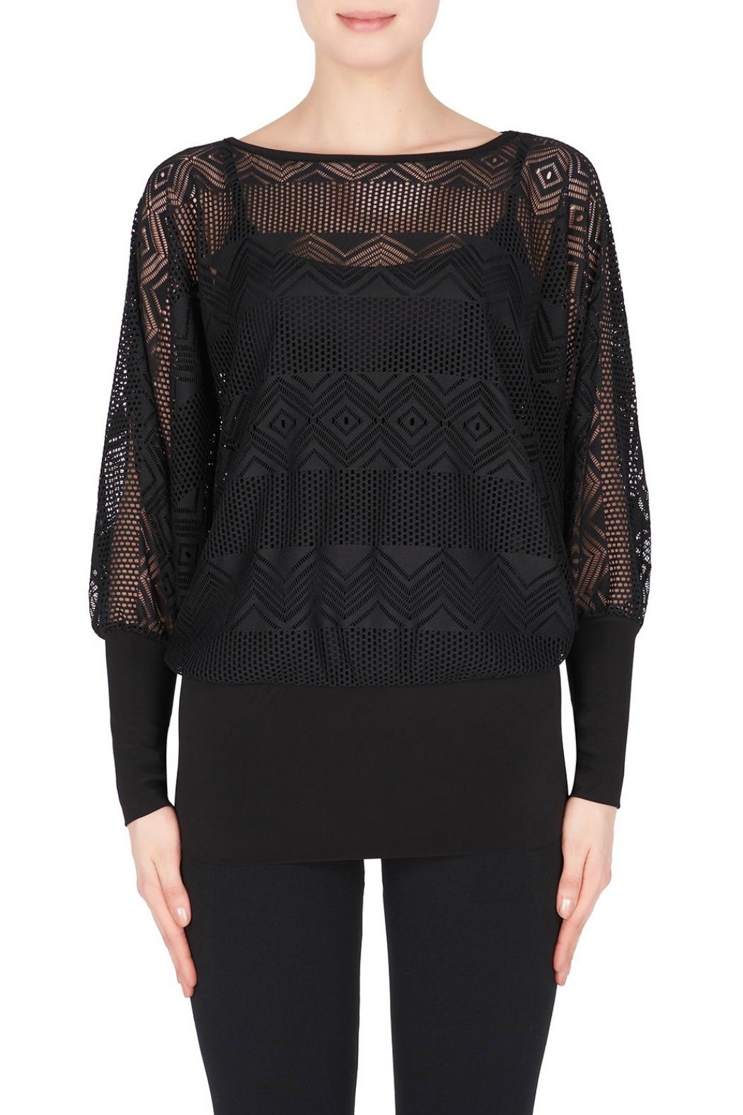Joseph Ribkoff Long Sleeve Top - Front Cropped Image