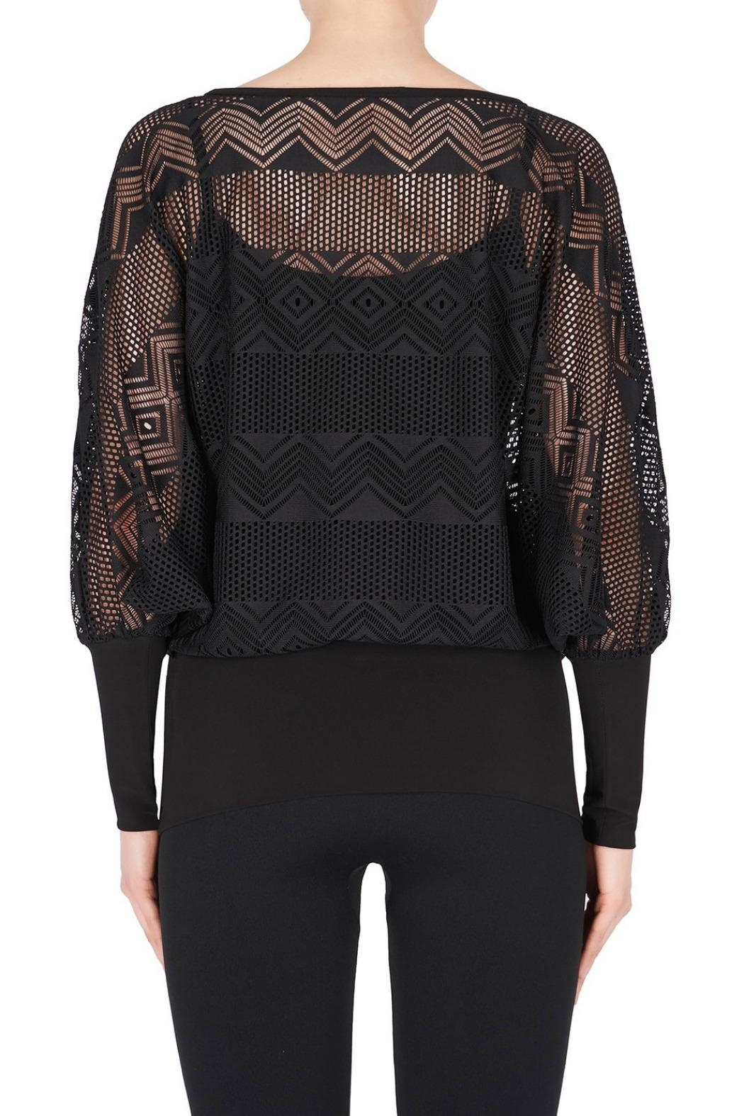 Joseph Ribkoff Long Sleeve Top - Side Cropped Image