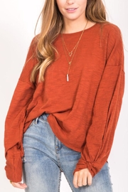 LoveRiche Long Sleeve Top - Product Mini Image