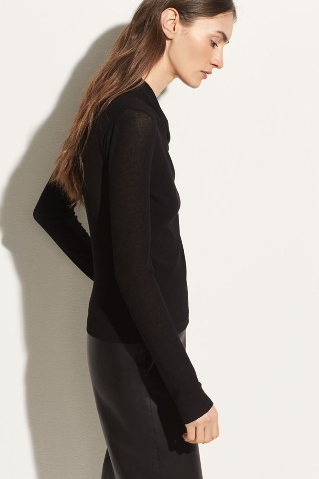 Vince Long Sleeve Top - Side Cropped Image