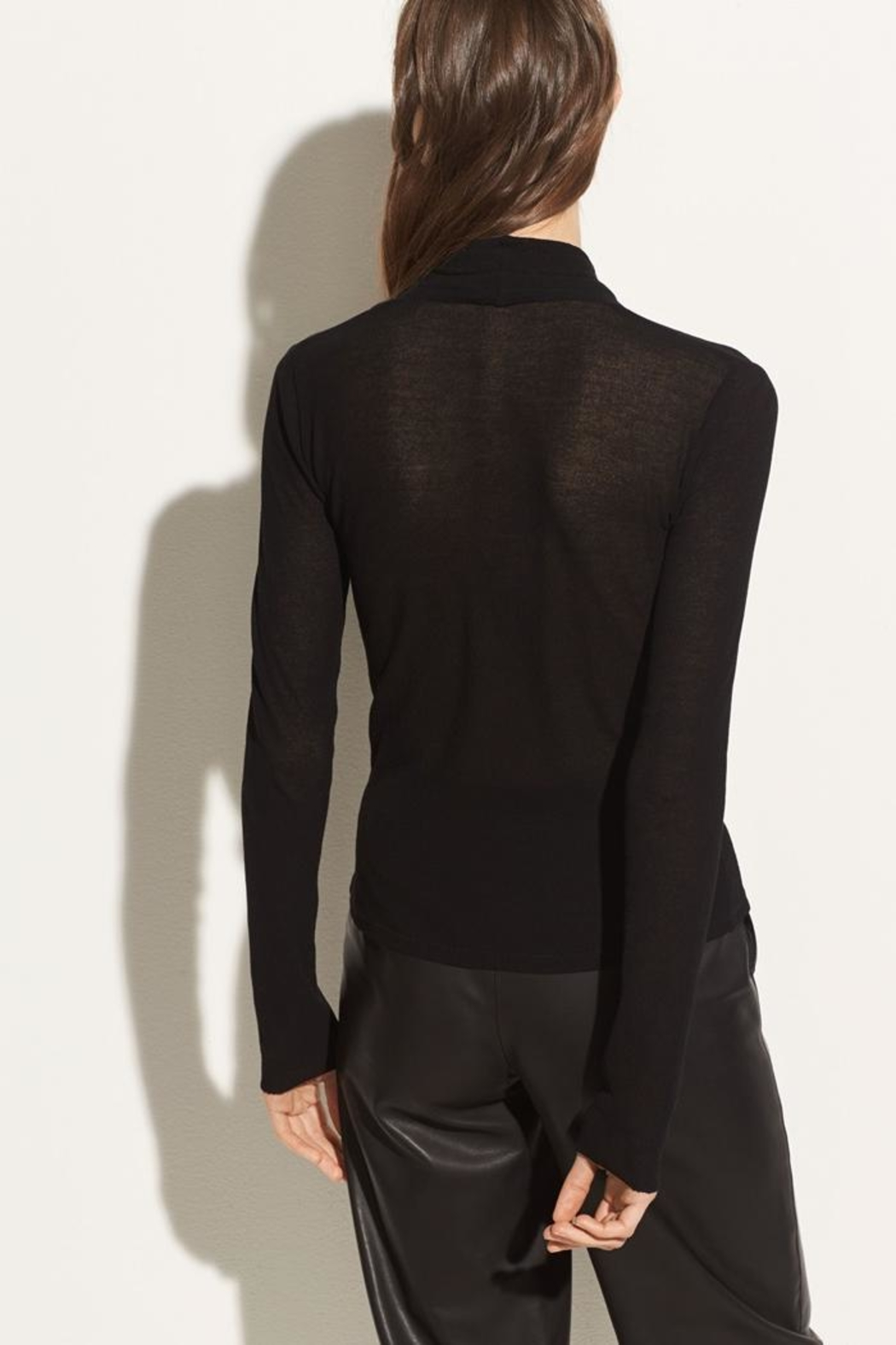 Vince Long Sleeve Top - Back Cropped Image