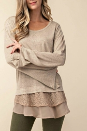KORI AMERICA Long Sleeve Top - Product Mini Image