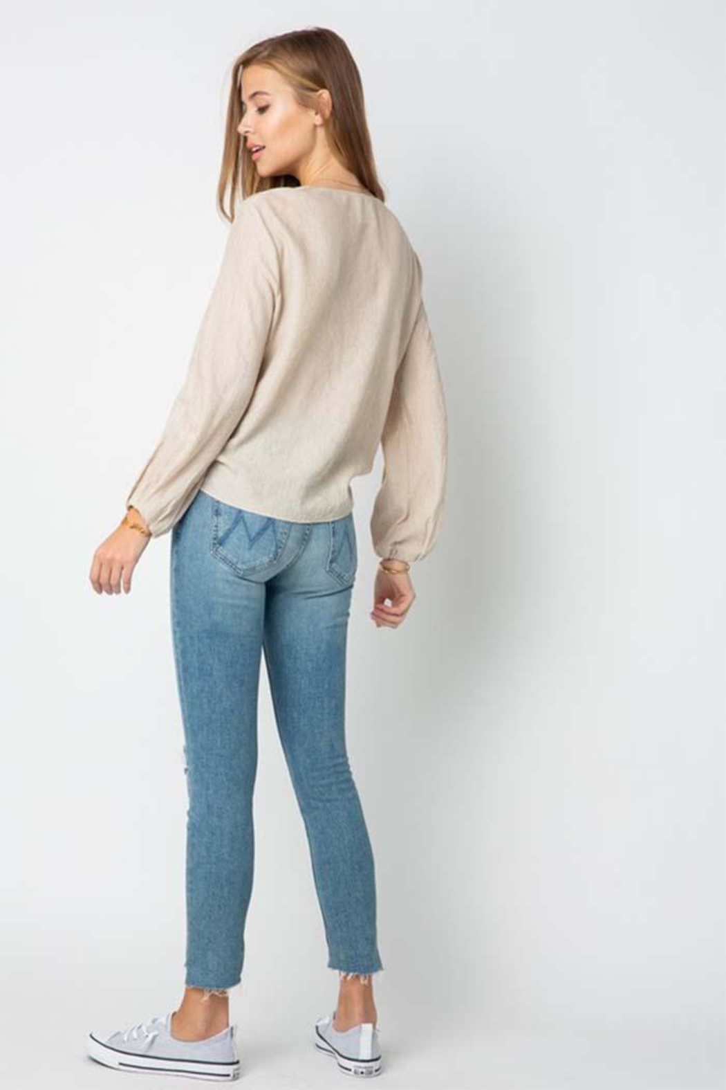 Style Rack Long Sleeve Top - Side Cropped Image
