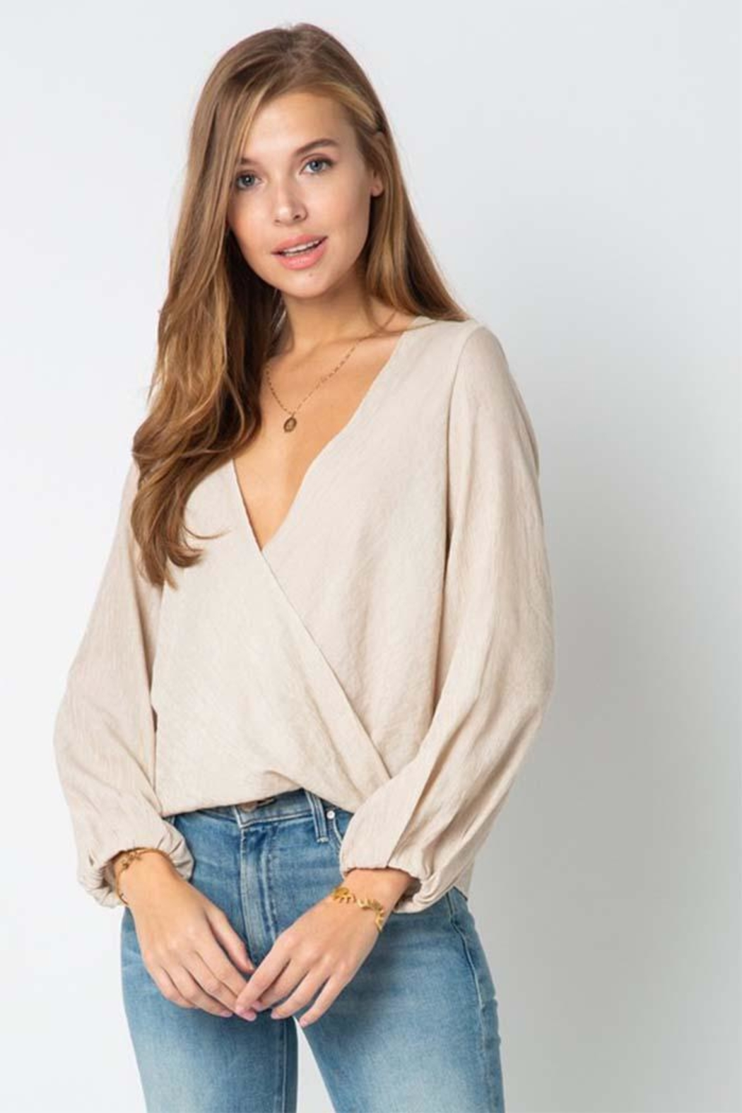 Style Rack Long Sleeve Top - Front Full Image