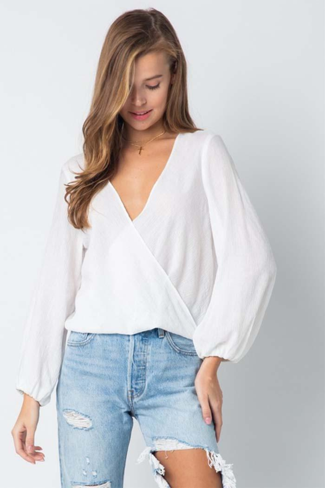 Style Rack Long Sleeve Top - Front Cropped Image