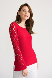 Joseph Ribkoff Long Sleeve Top - Front cropped