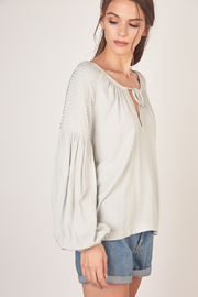 Mustard Seed  Long Sleeve Top - Front full body