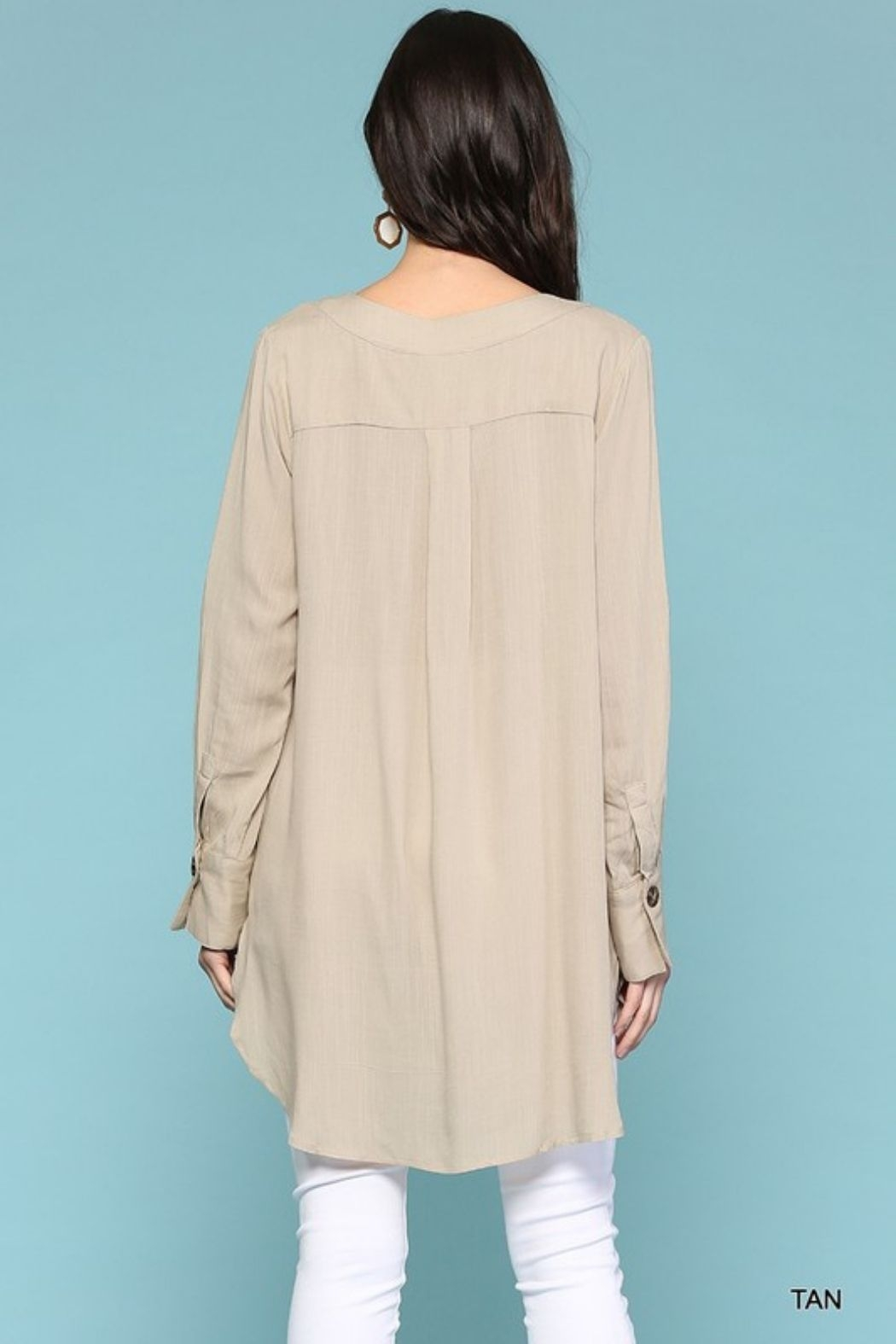 Gigio/BluHeaven Long Sleeve Tunic - Front Full Image