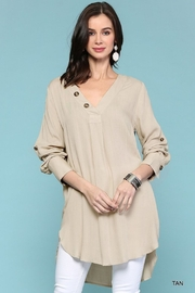 Gigio/BluHeaven Long Sleeve Tunic - Front cropped