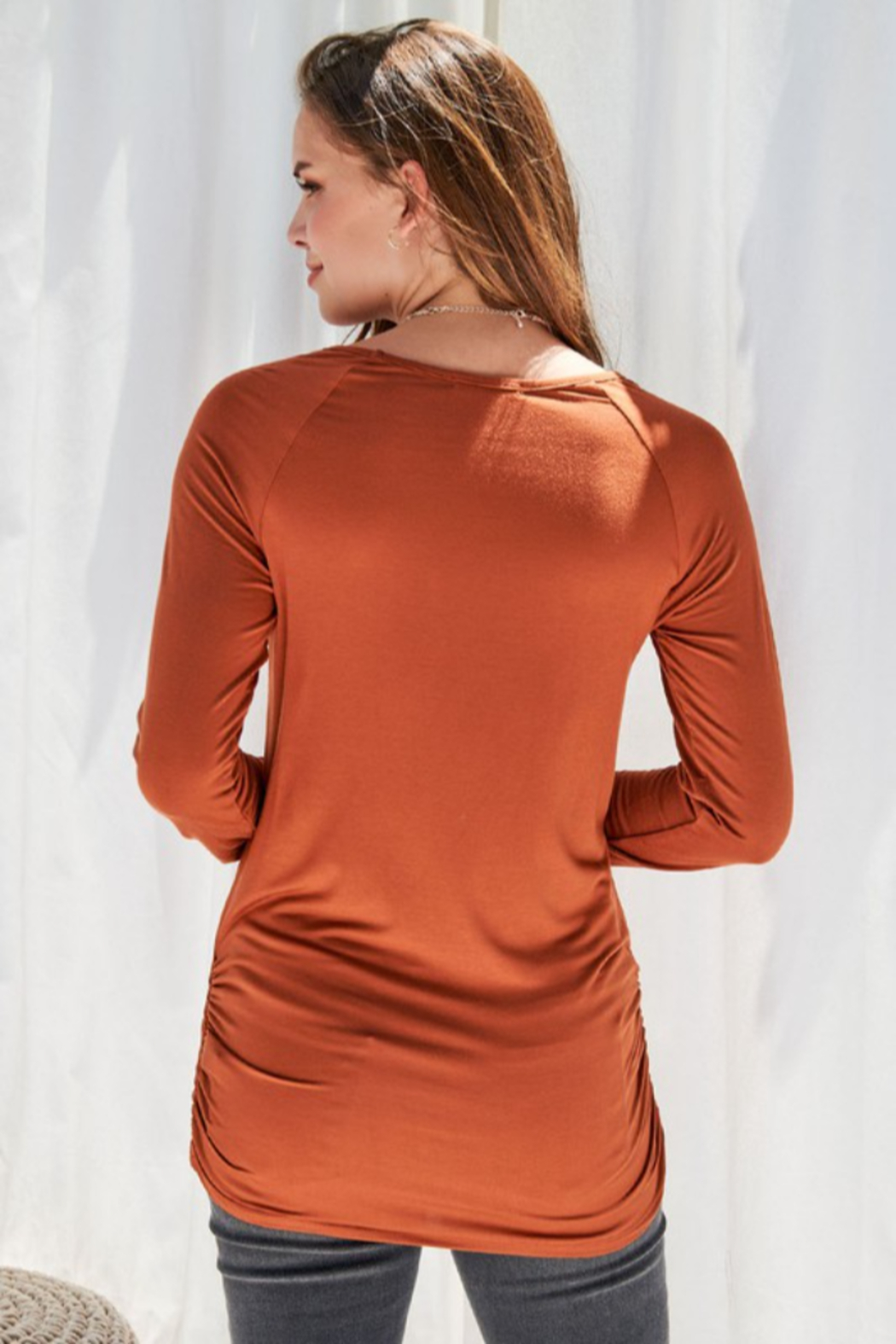 FSL Apparel Long Sleeve Tunic - Side Cropped Image
