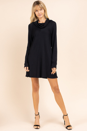 Gilli Long Sleeve Turtleneck mini Dress - Product Mini Image
