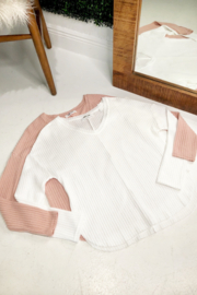 HYFVE Long Sleeve Waffle Top - Product Mini Image