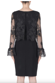 Joseph Ribkoff Long Sleeved Lace Dress - Front full body
