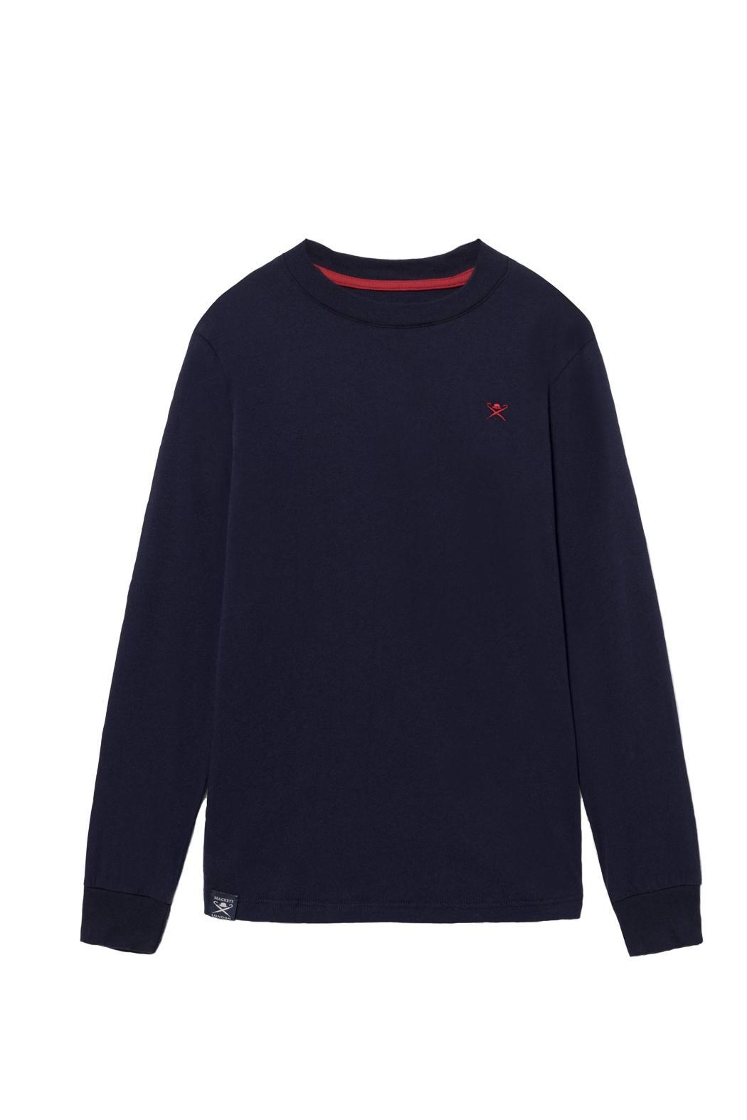 Hackett Long Sleeved Tee. - Front Cropped Image