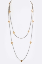 Nadya's Closet Long Station Necklace - Front cropped