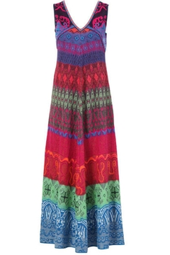 Shoptiques Product: Long Stitched Dress