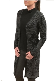 Keren Hart Long Tapestry Cardigan - Product Mini Image