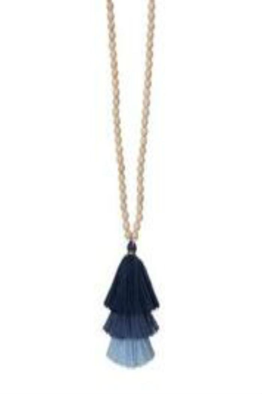 Occasionally Made Long Tassel Necklace - Front Cropped Image
