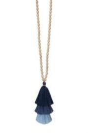 Occasionally Made Long Tassel Necklace - Front cropped