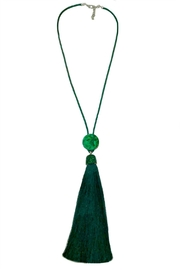 ANTONELLO SERIO Long Tassel Necklace - Front cropped