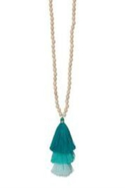 Occasionally Made Long Tassel Necklace - Product Mini Image