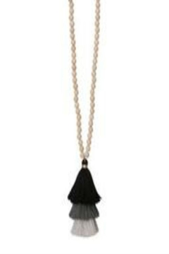 Occasionally Made Long Tassel Necklace - Alternate List Image