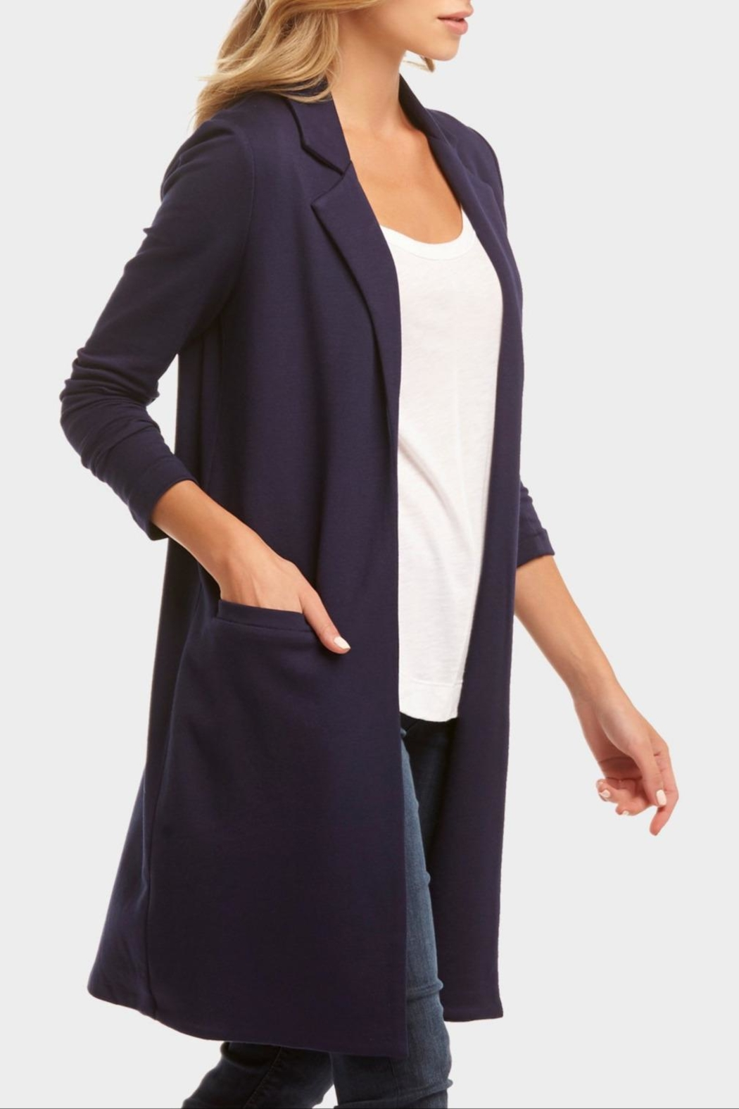 Tart Collections Long Terry Blazer - Front Full Image