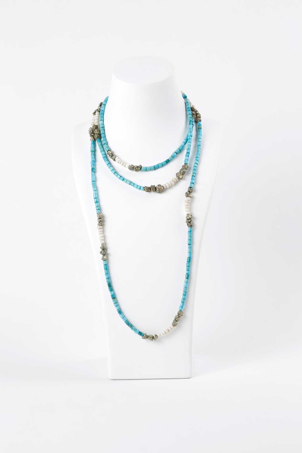 Susan McVicker Jewelry Long Turquoise Necklace - Main Image