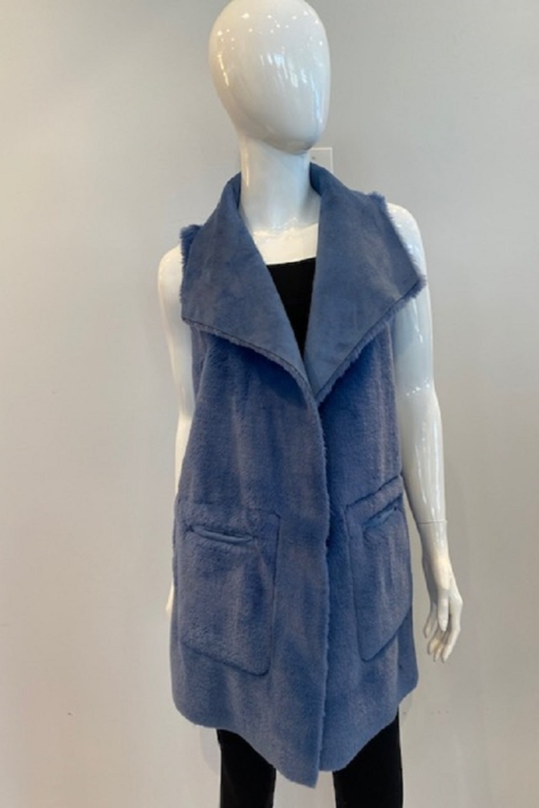 Katherine Barclay Long Vest - Front Full Image