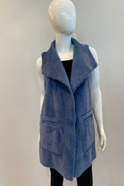 Katherine Barclay Long Vest - Front full body